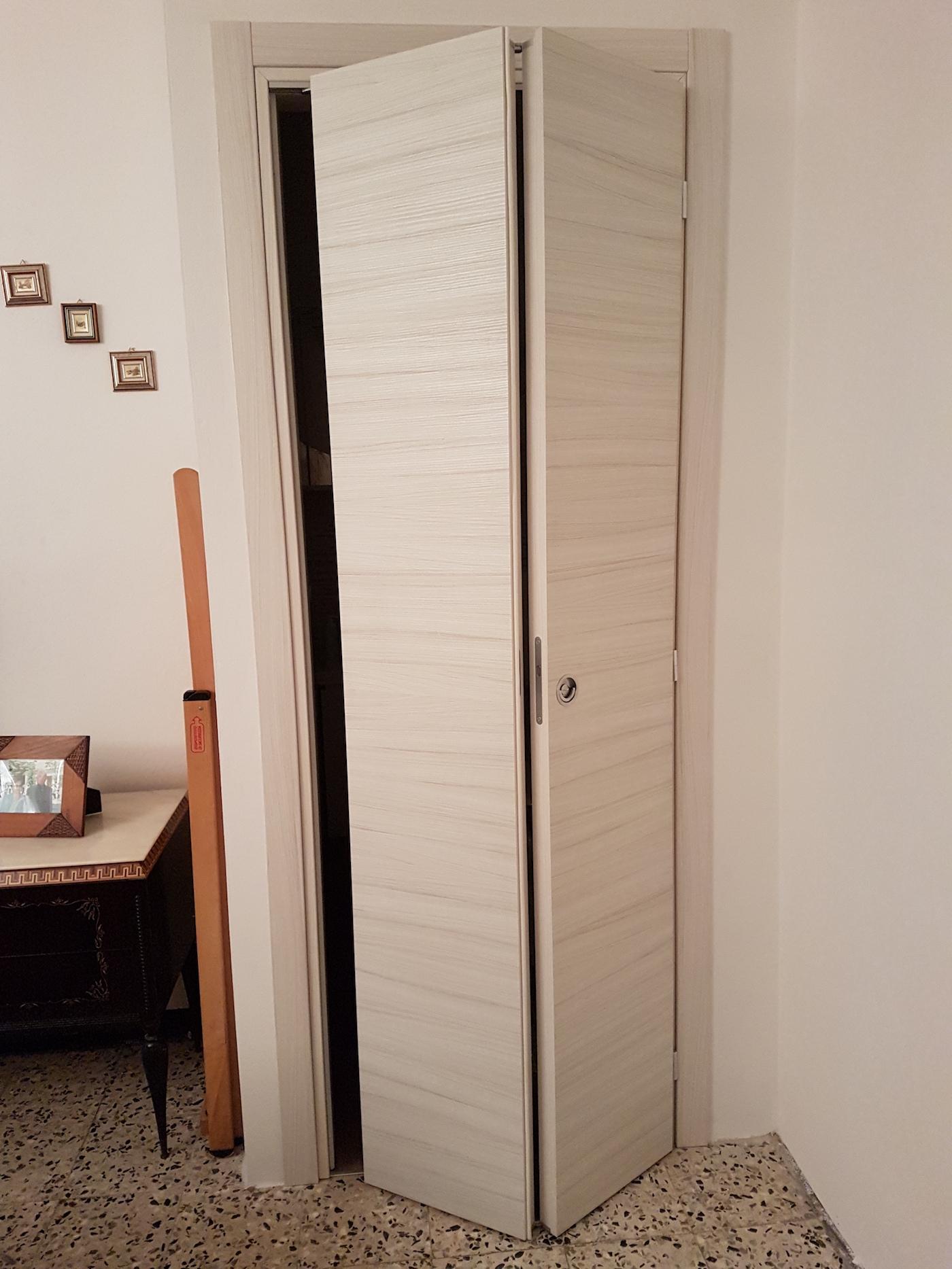 Porta A Soffietto Bianca porte da interni - forchetto luigi snc - casalpusterlengo